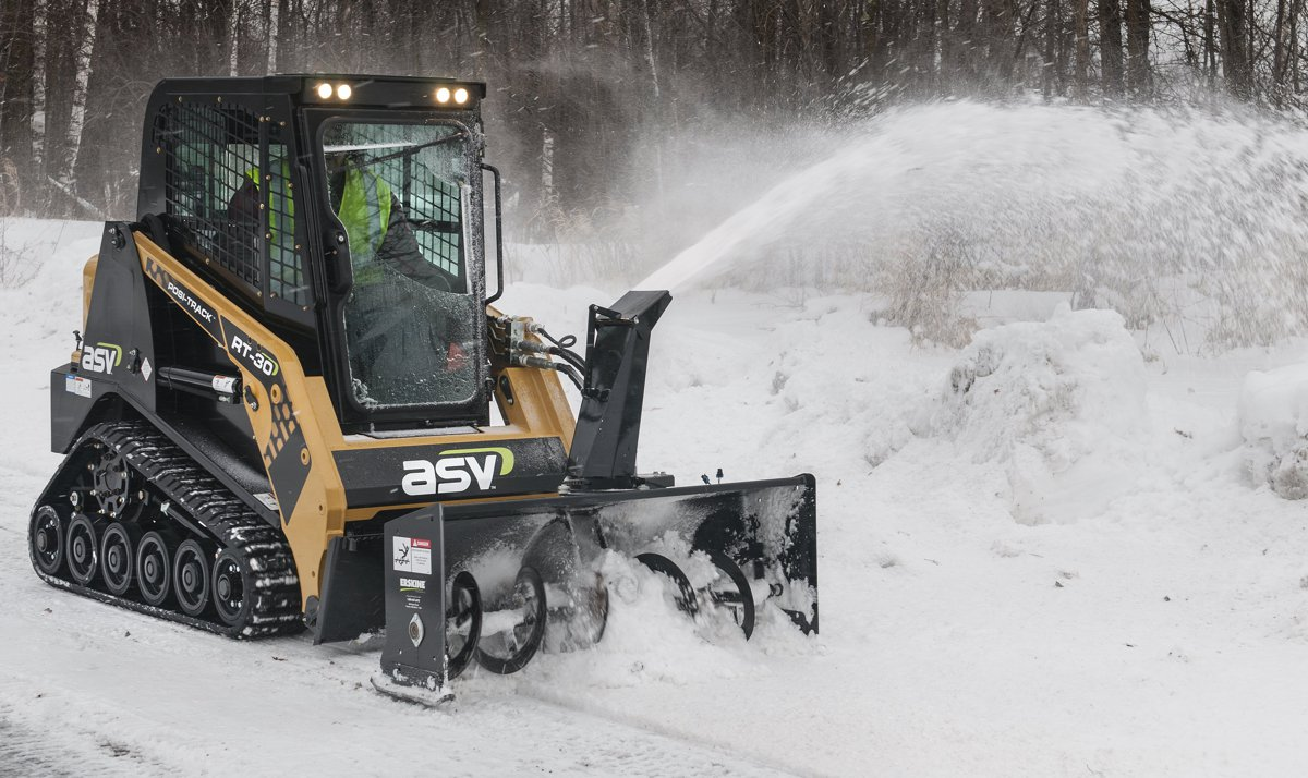 ASV offers RT-30 Compact Track Loader for versatility in tight areas