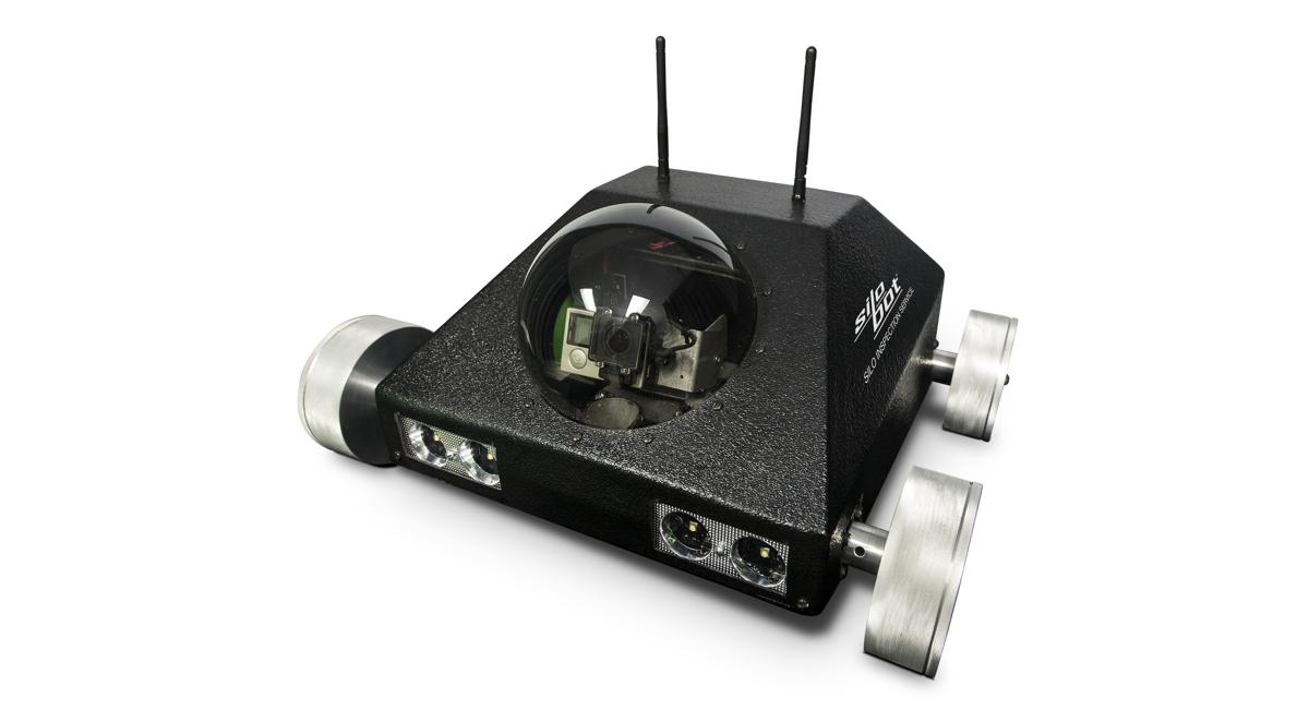ASTEC introduces Silobot™ hot-mix silo robot inspection service