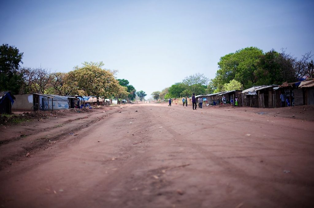 South Sudan Road