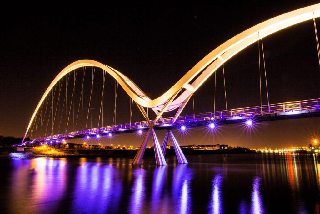 Teeside Bridge by Vik Waters
