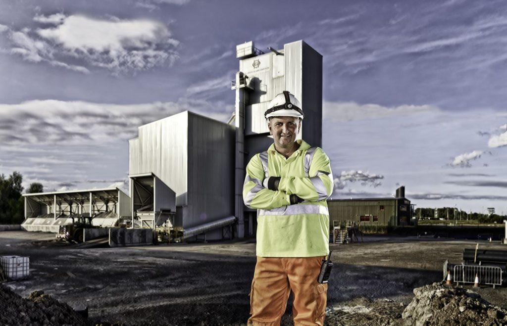 Asphalt Mixing Plant with RAP50, Hillhouse Quarry Group