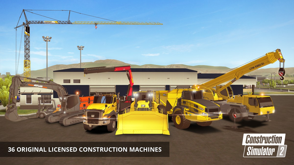 Construction Simulator 2 now available for Android, iPhone and iPad