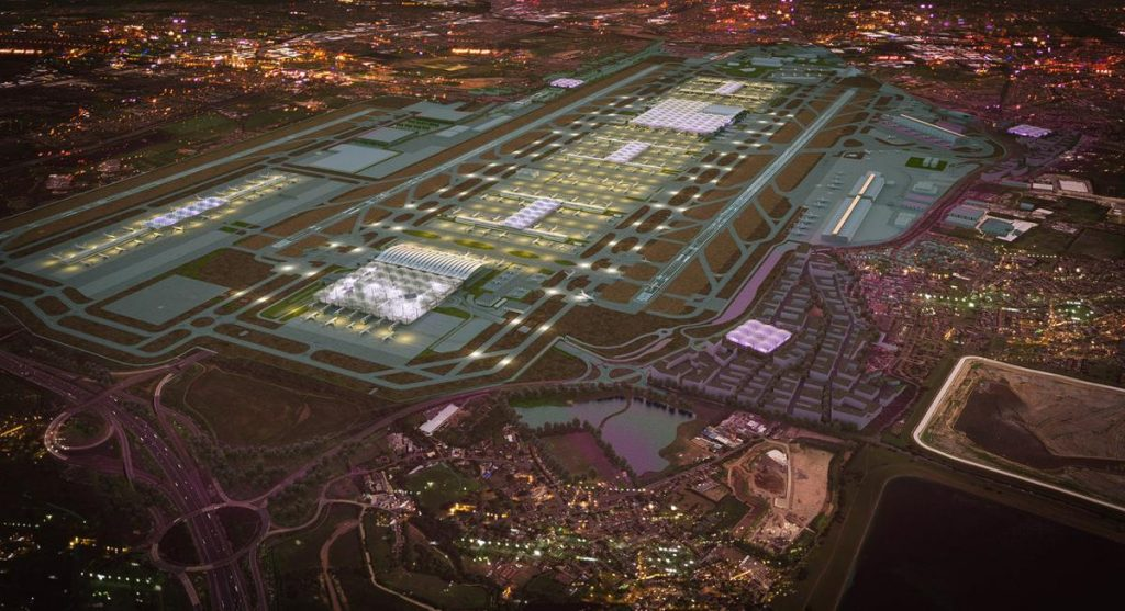Heathrow Expansion CGI