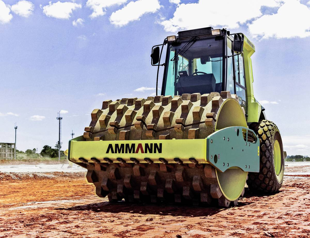Ammann Soil and Asphalt Rollers play key roles in Bangladesh infrastructure projects