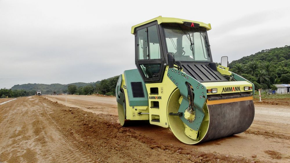 Ammann Soil and Asphalt Rollers play key roles in Bangladesh