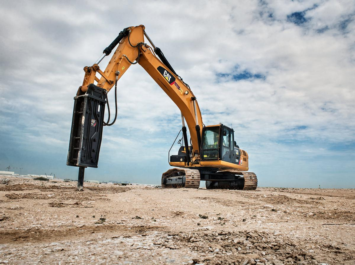 New Caterpillar B Series Hammers feature lower costs, high production, long-term durability, ease of use