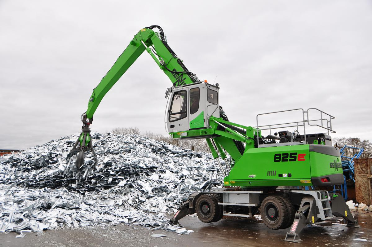Sennebogen 825 E-Series Material Handler scores high marks in Germany