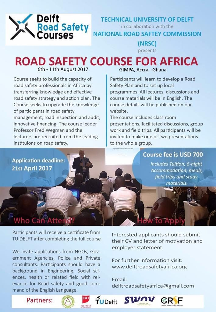 Delft Road Safety Course Ghana