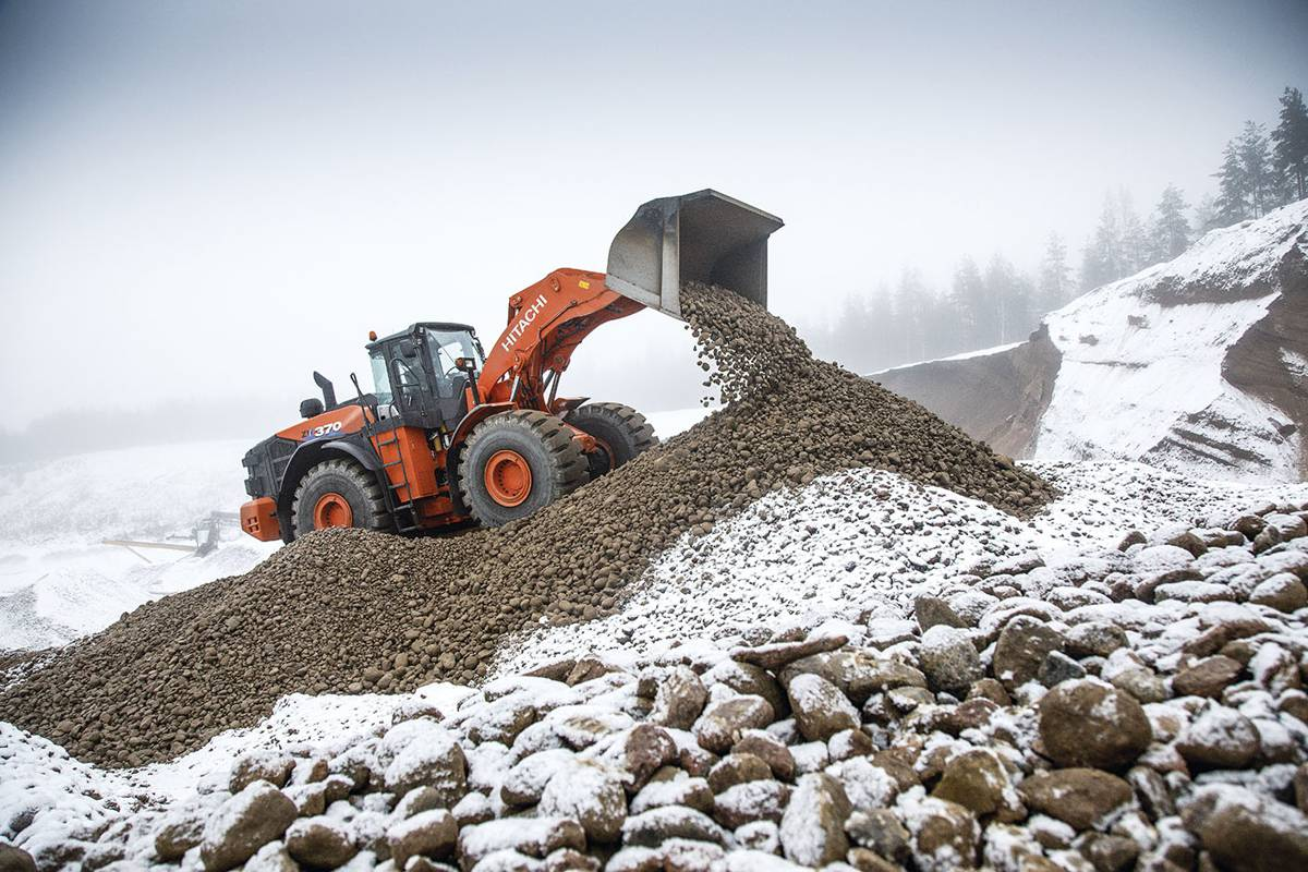 Finnish quarryhails Hitachi ZW370-6 wheel loaders for their unrivalled productivity