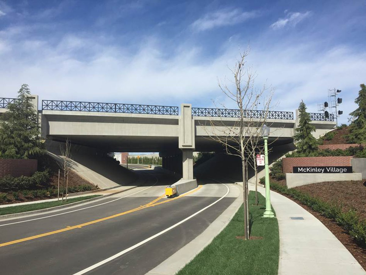 American Society of Civil Engineers recognizes Parsons for innovative underpass design