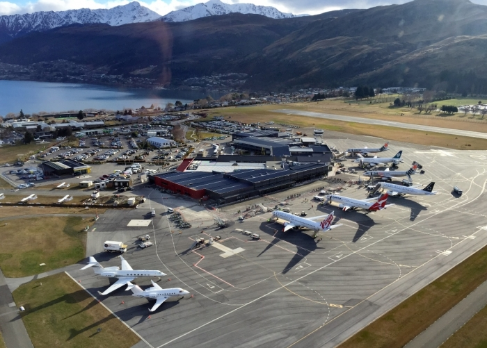 Queenstown Airport New Zealand