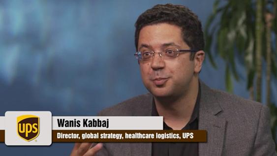 Wannis Kabbaj of UPS