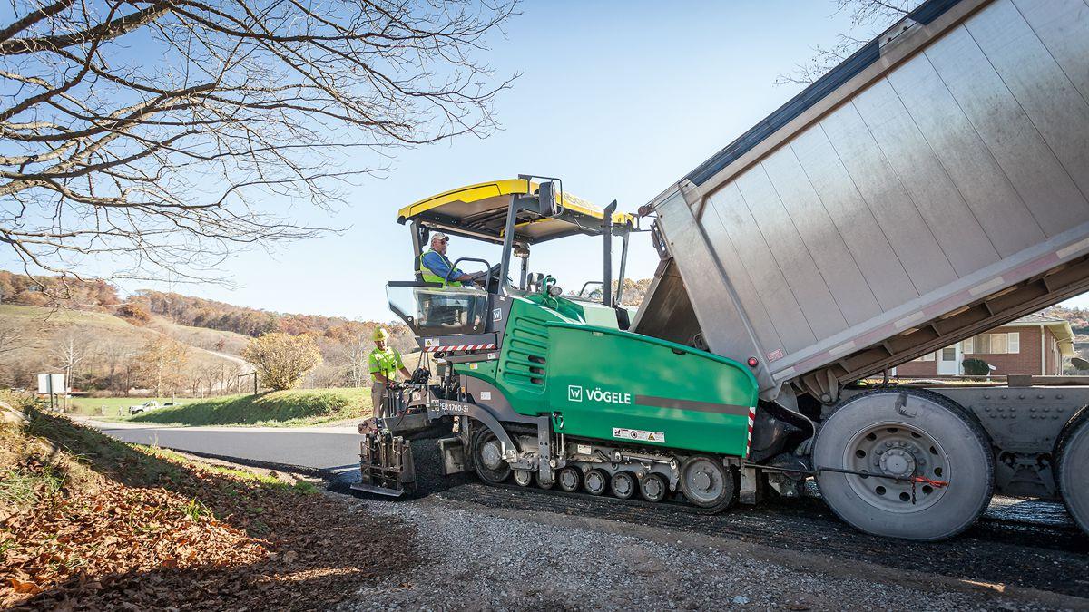 VÖGELE introduce 8 foot SUPER 1700-3i and SUPER 1703-3i cutting-edge universal pavers