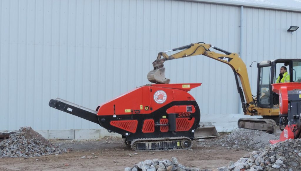 Red Rhino 5000 Electric Crusher