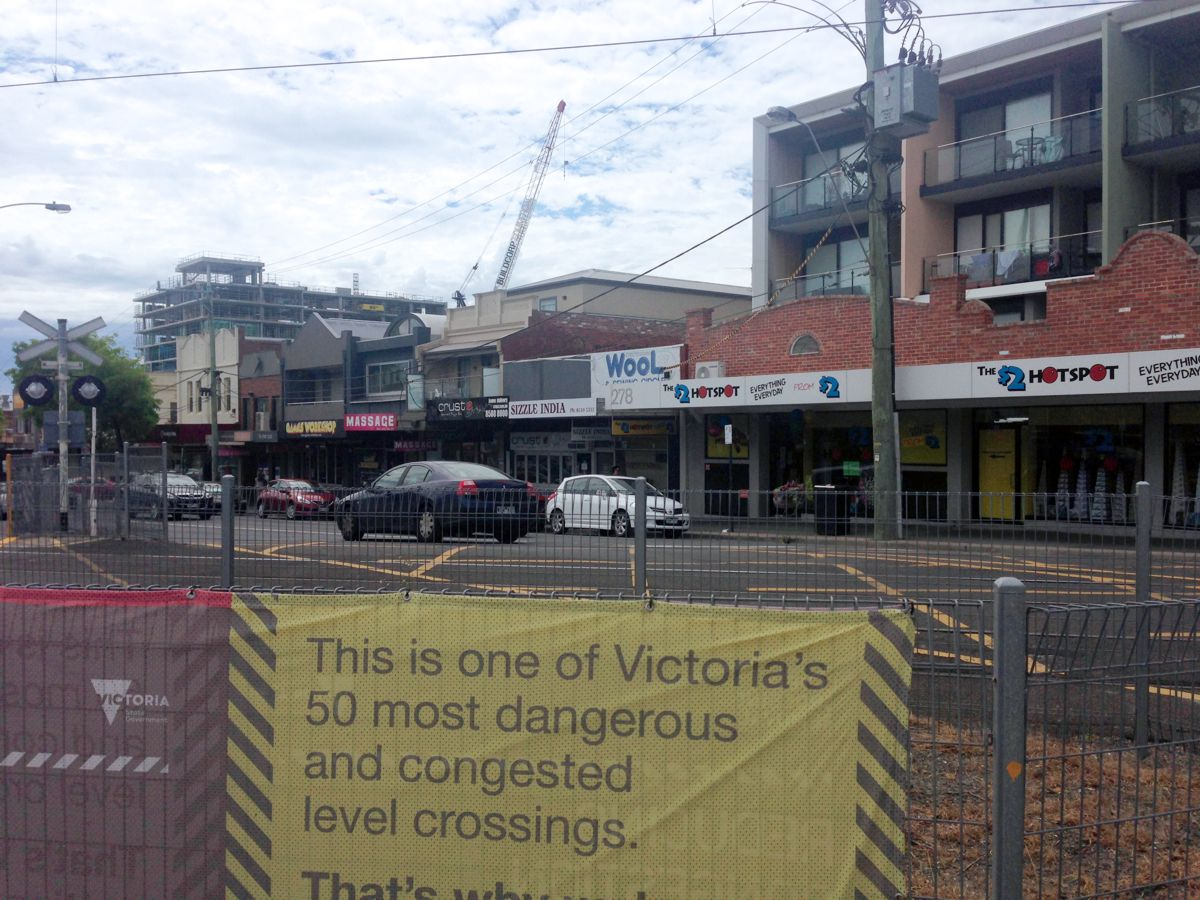 Melbourne fast-tracking removal of dangerous and congested level crossings