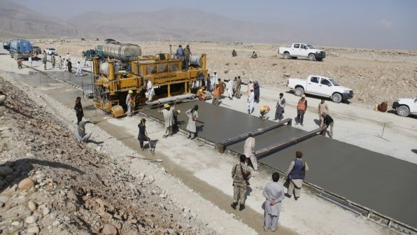Afghan contractors will play a greater role in the execution of road works under the transport master plan.