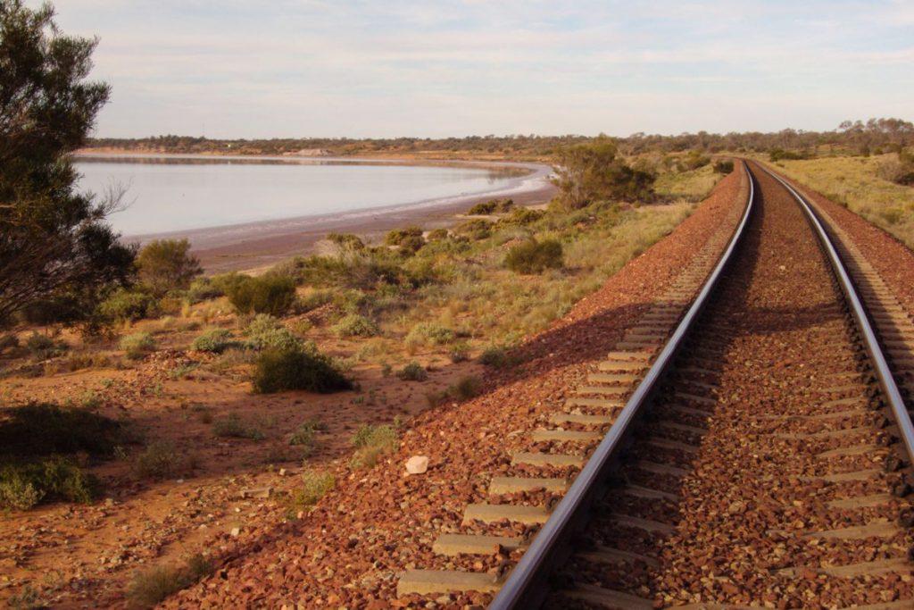 Adelaide to Darwin Railway Line