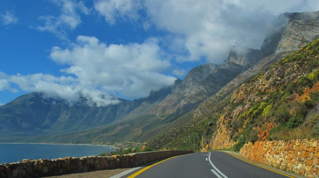 Africa Coastal Road by Dave Bezaire