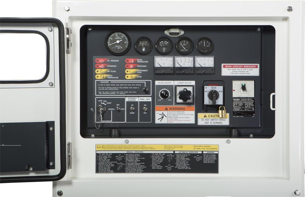 Allmand Maxi-Power 25 Controls