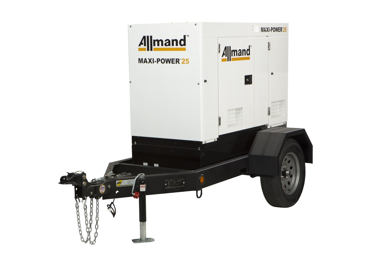 Allmand expands into the Mobile Generator Market with Maxi-Power Mobile Generators