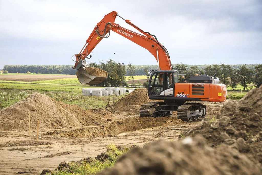 Hitachi ZX300 Excavator