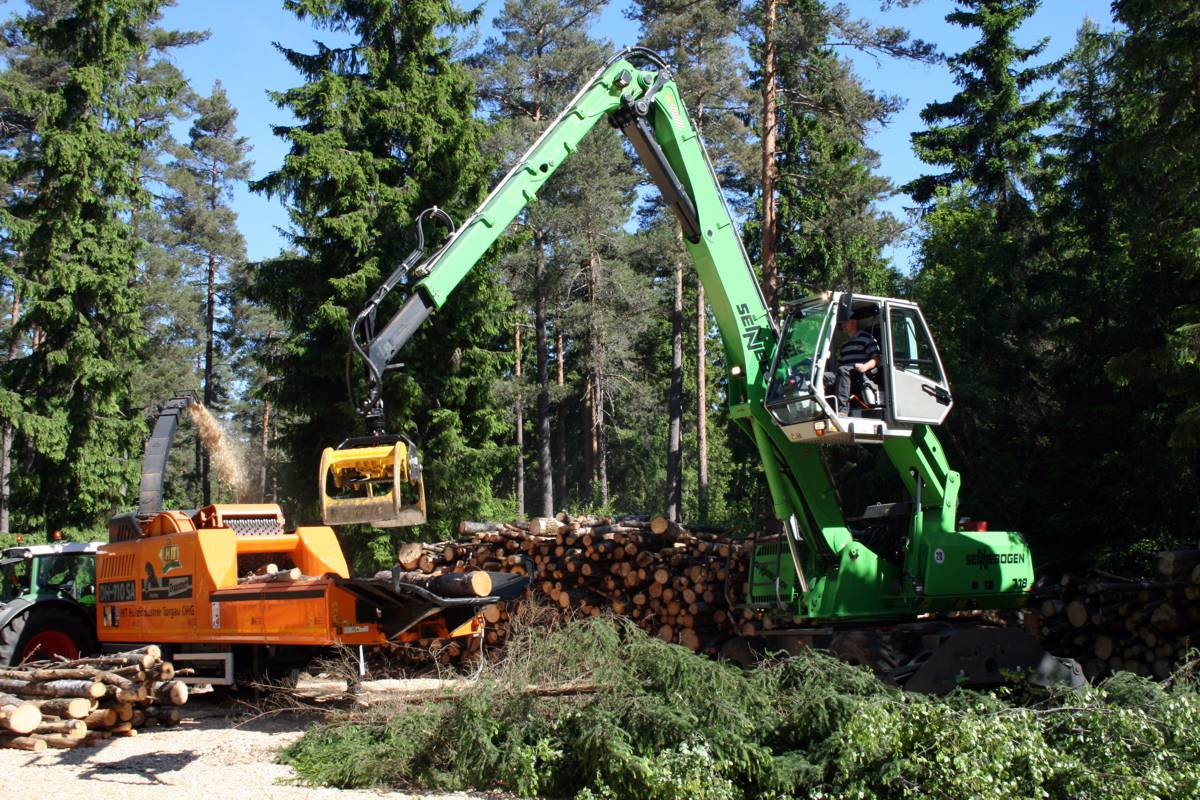 SENNEBOGEN to feature timber handling solutions at the world's largest forestry fair in Sweden