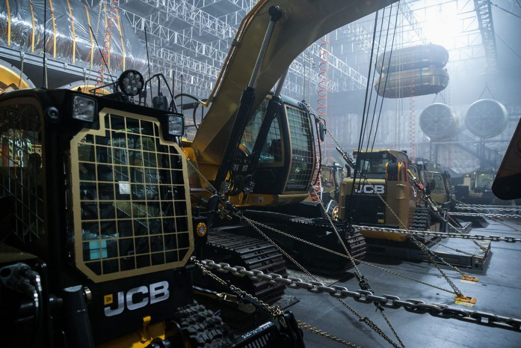 JCB Machines in Alien Covenant