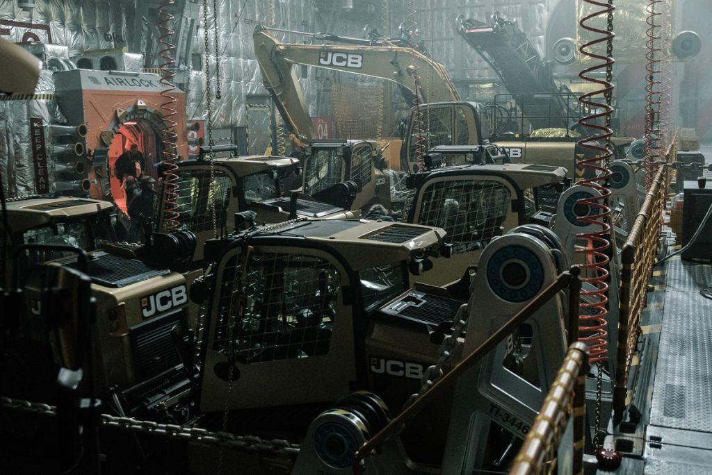 JCB Machines in Alien Covenant 2