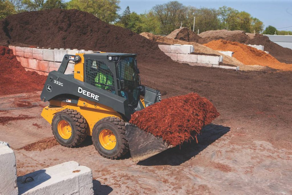 90-inch Light Material High-Capacity Bucket for G-Series skid steers and compact track loaders