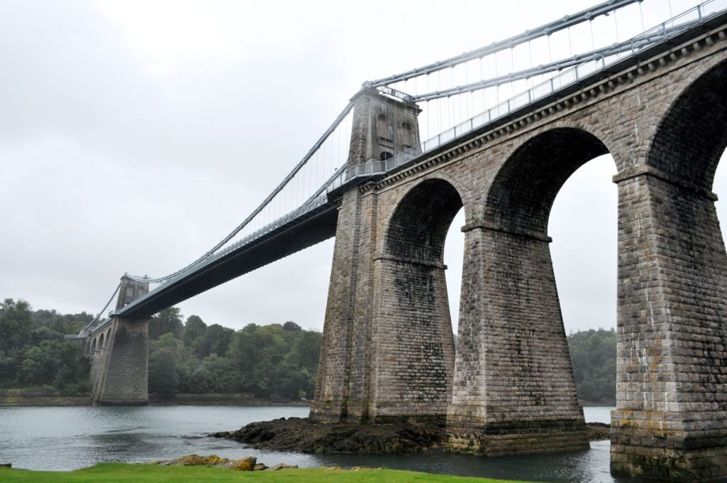 Menai Bridge. Photo by Darren Glanville