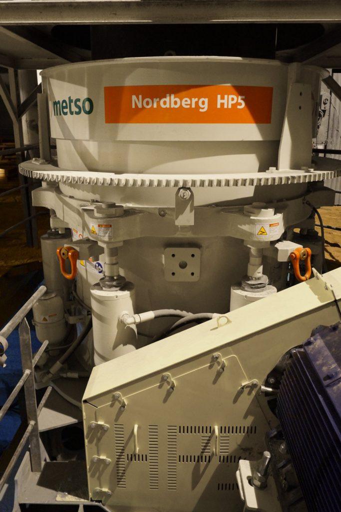 Metso Nordberg HP5 cone crusher