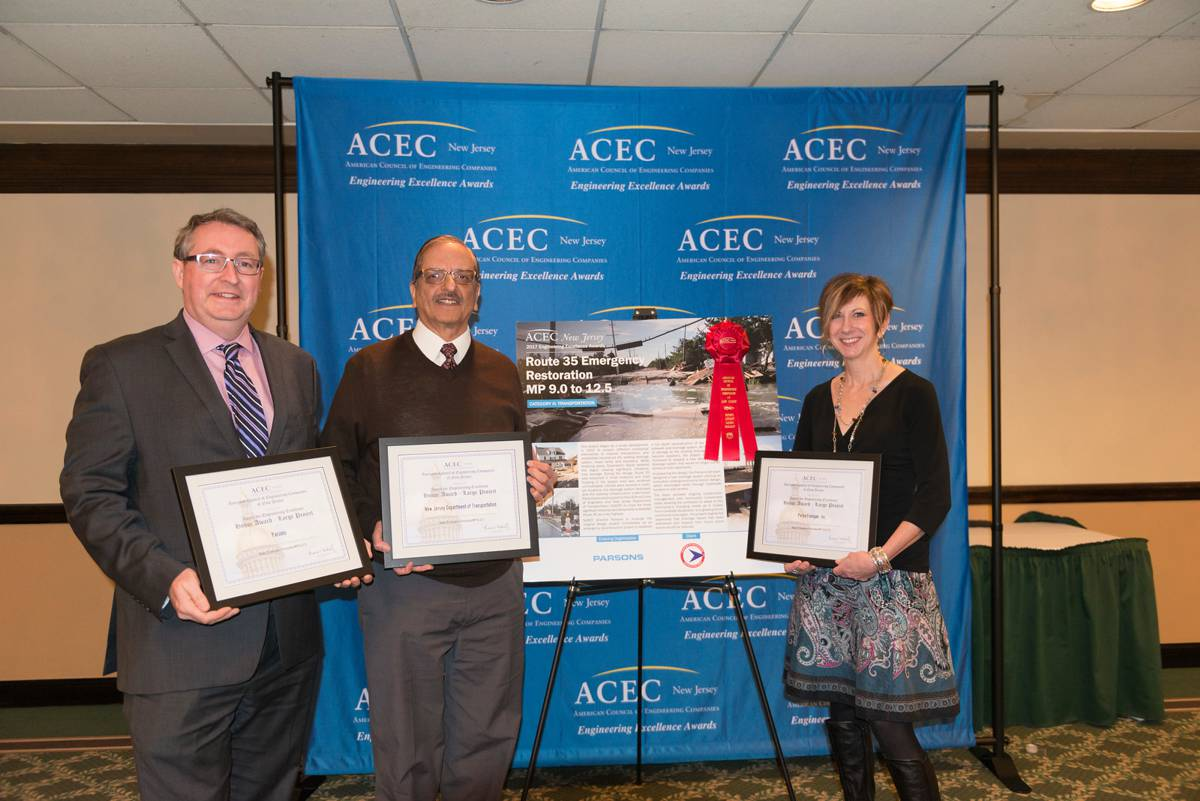 Parsons honoured by American Council of Engineering Companies for two rehabilitation projects