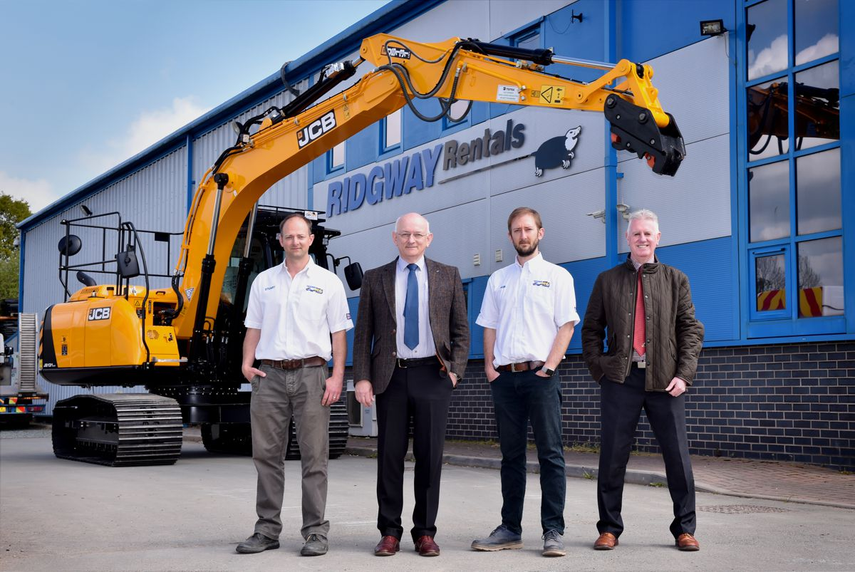 Ridgway celebrates 50 years of history as a JCB customer with huge order