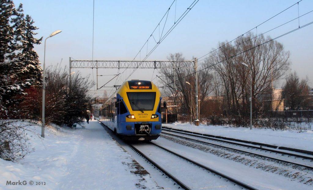 Train Stadler ETR150 EN76 002 Katowice Piotrowice Poland