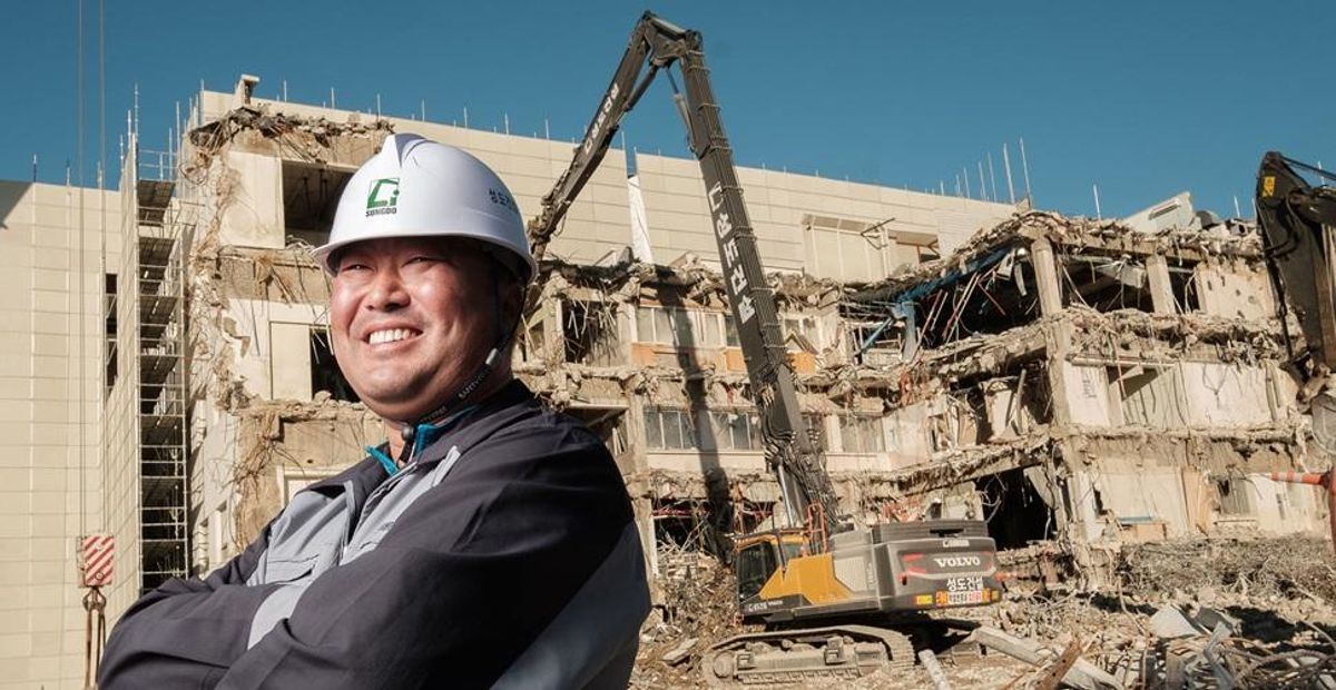 Sungdo Construction reaches for higher demolition safety standards in South Korea