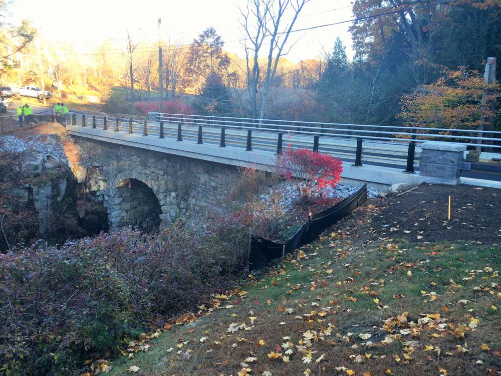 Skilton Road Bridge in Watertown, Connecticut