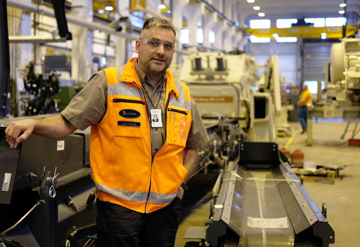 Metso invests €1 million to enhance their Lokotrack mobile crushing plant factories in Tampere