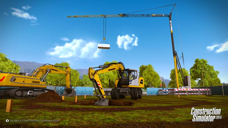 The new Construction Simulator Deluxe edition for PC and Mac