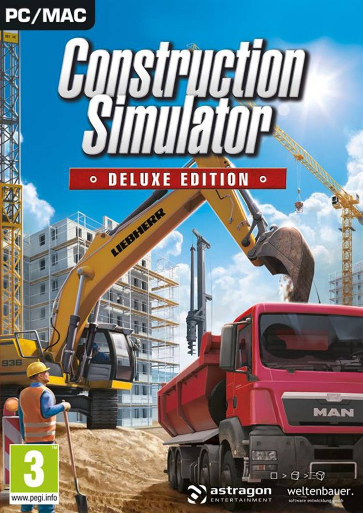 The new Construction Simulator Deluxe edition for PC and Mac is out now!