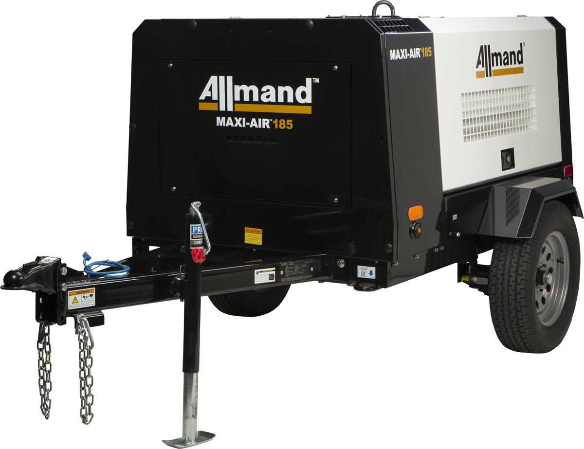 Allmand expands into portable air compressor market with Maxi-Air Portable Air Compressors