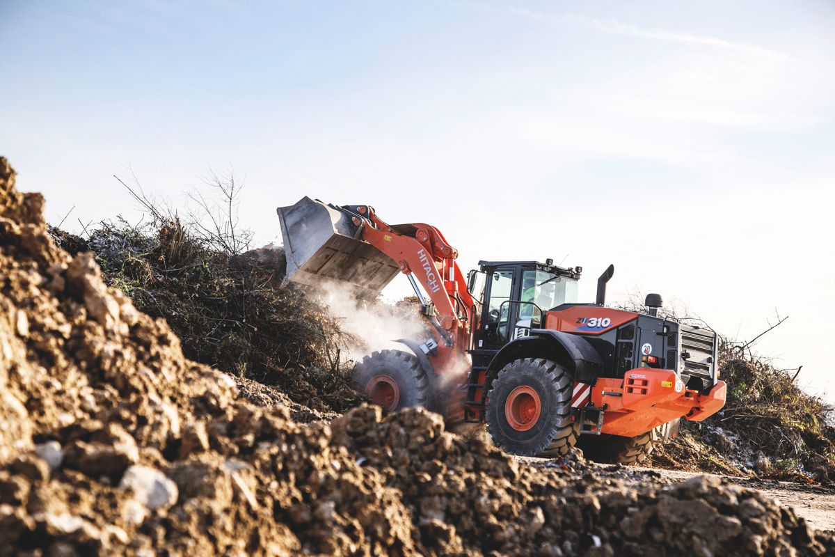 Hitachi's ZW310-6 wheel loader winsMinERALiX on-site competition
