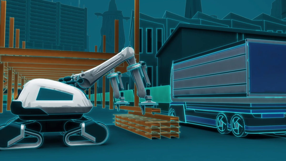 Human free construction sites by 2050? Balfour Beatty imagines our digital future