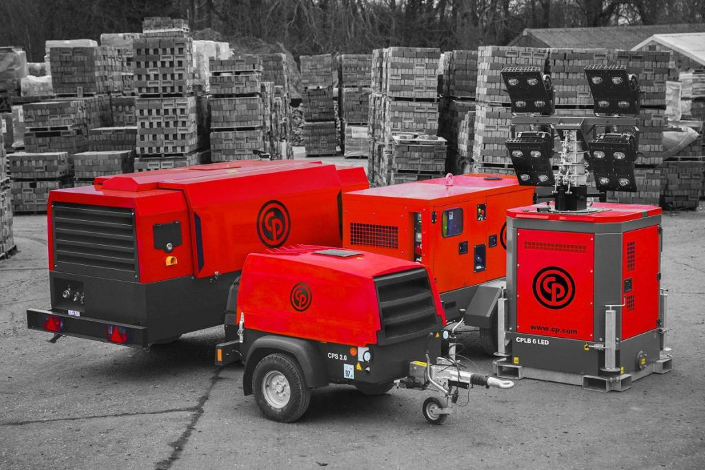 Chicago Pneumatic Red Rock Generators