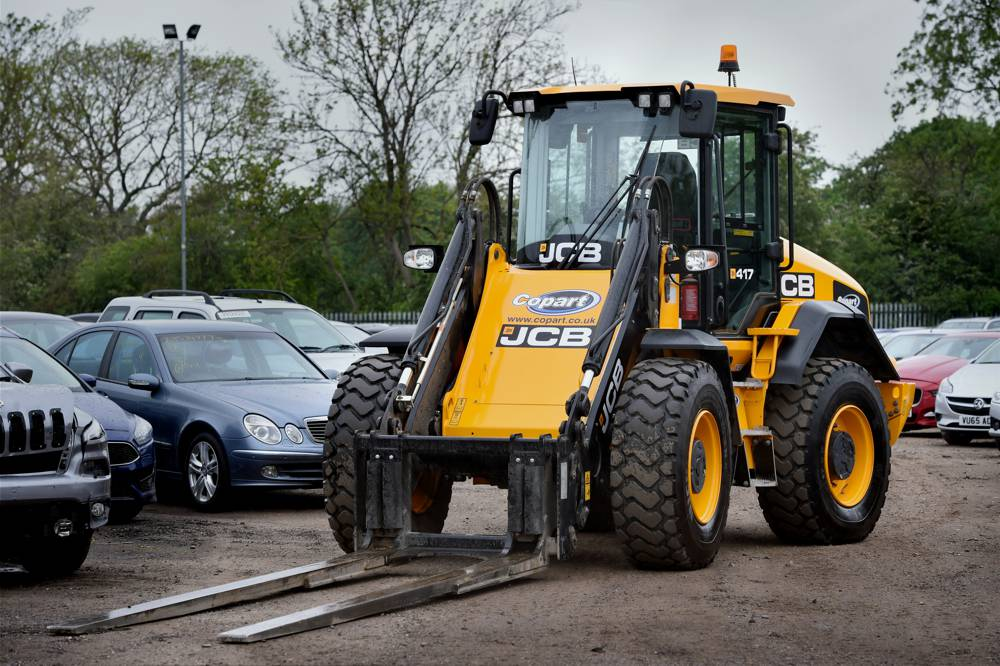 The new generation 417 models from JCB dealer Watling JCB in Leicestershire.