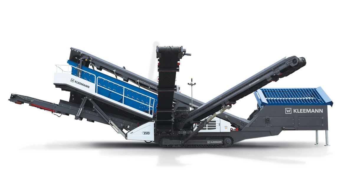 Kleemann Mobiscreen MS 703 EVO mobile screening plant launched in South Africa