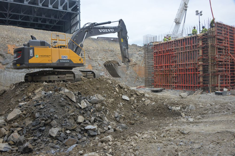 Waste to energy plant in Pennsylvania gets a makeover with Volvo excavators