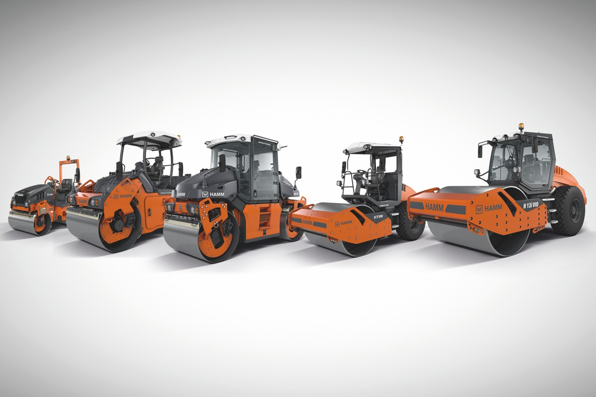 Three decades of experience makes HAMM the world leader in oscillation compaction