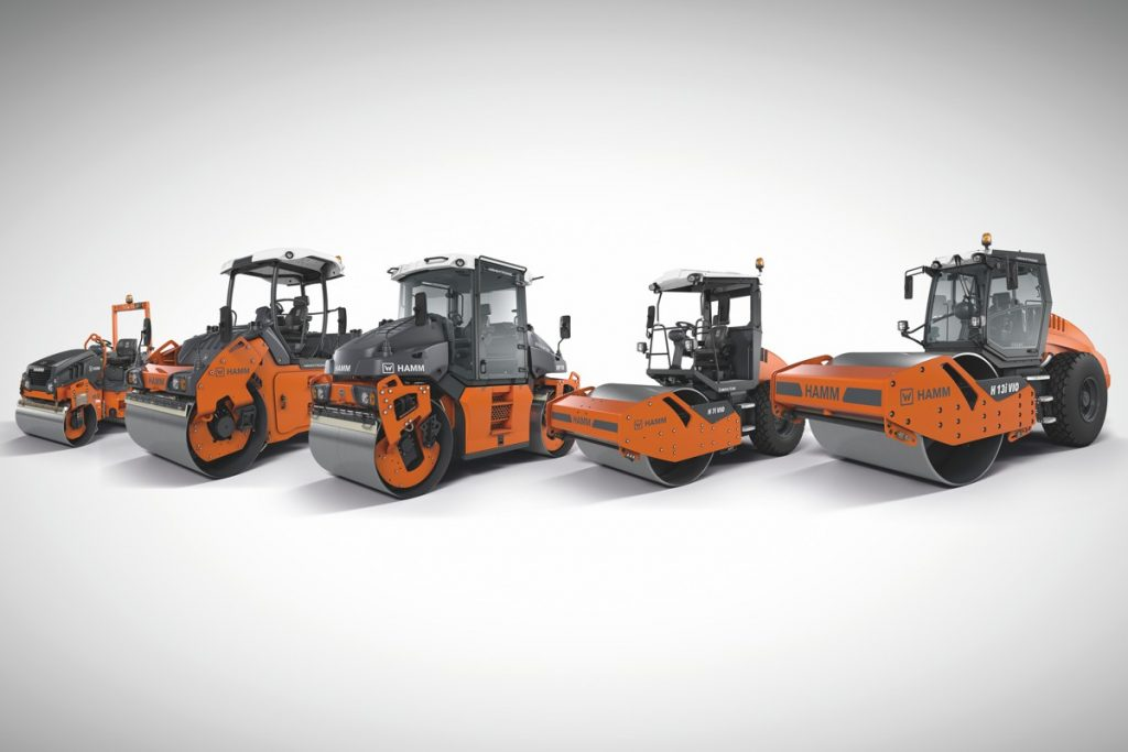 HAMM offers over 35 different rollers with oscillation – including machines with Tier 3 and Tier 4 engines, machines with working weights ranging from 2.5 to 15 t and machines for asphalt and earthwork.