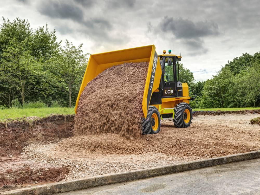Hi-Viz 7 Tonne Site Dumper