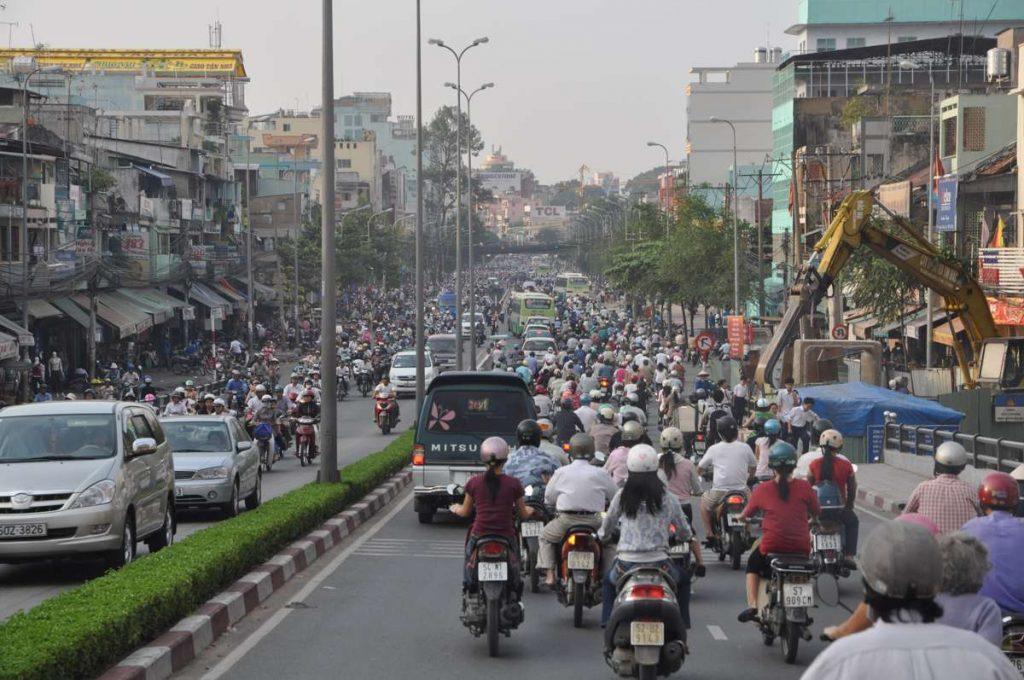 Ho Chi Minh Traffic by john Benwell